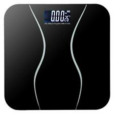 LEADZM 180KG Digital Electronic LCD Bathroom Weighing Scale Weight Scales 396lb