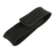 20x(13cm schwarz Nylon-Holster Halter Guerteltasche Tasche fuer LED Taschen Q8V1