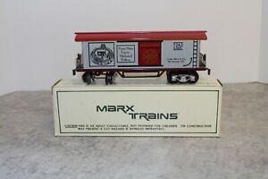 Modern Marx O-Gauge #7262 Early Trains Car New In Box