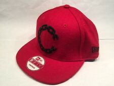 New Era Crooks & Castles 9FIFTY Chain C Snapback Cap Hat $40 - Red & Black