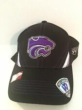 new arrival 505f1 ca899 Kansas State Top of the world NCAA Pace Stretch fit hat OSFM Black