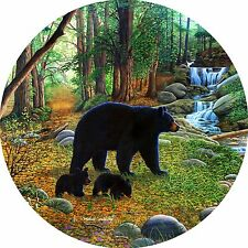 Early Morning Bear # 1 spare tire cover for Jeep RV trailer(all sizes available)