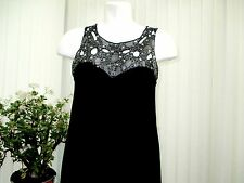 "miss posh"" ladies black top size 10 b.n.w.t."