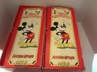 Applause Disney Collectible Classics Charlotte Clark Mickey and Minnie Mouse