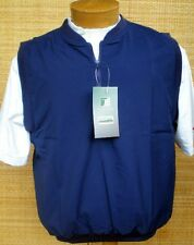 Turfer The Chipper Microfiber 1/4 Zip Golf Vest Navy Blue Small Brand New in Pkg