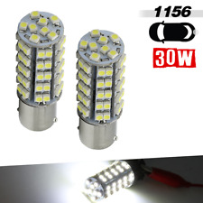 1156 BA15S 6000K White RV 68 SMD LED Light Bulbs Back up/ Rear Turn signal