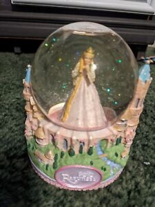 Barbie As Rapunzel Snow Globe Waterball, New in Box Read Discription