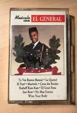 EL GENERAL MUEVELO CASSETTE TAPE ORIGINAL 1991