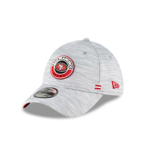 San Francisco 49ers NFL Player Sideline OnField 39THIRTY Hat Cap Grey Stretch SF