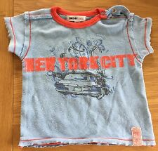 DKNY Baby Boys Short Sleeved T-shirt Size 3 Months