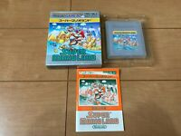 GameBoy Super Mario Land nintendo with BOX and Manual