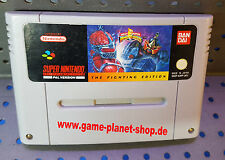 Power Rangers The Fighting Edition SNES Modul Sammlung