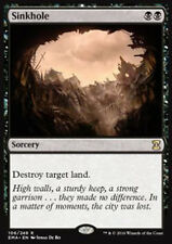 MTG SINKHOLE FOIL EXC - SINKHOLE - EMA - MAGIC