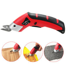 Potable Electric Scissors Fabric Craftr Auto Cutter Shears Cordless Household
