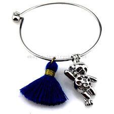 KB171 Pearl Cage Animal Bear Tassel Akoya Oyster Panda Cage Bangle Bracelet