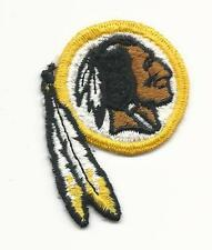 "NEW Washington Redskins Logo Sew on Patch 2 1/2"" x 2"" NFL Football"