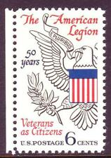 AT FACE! #1369 AMERICAN LEGION. WHOLESALE LOT OF (100) MINT SINGLES F-VF NH!