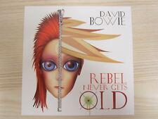CD /  David Bowie – Rebel Never Gets Old  / PROMO / MUSTER / RAR /