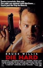 Die Hard Movie Poster * Reprint * 13 x 19