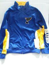 "St Louis Blues Kids Zip Up Jacket Size M ""NWT"""