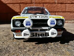 1:18 Ford Escort RS 1800, Sun Star Classic Rally Collectables #4455
