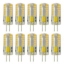 Rayhoo 10pcs Set G4 base 48-LED Light Crystal Bulb Lamps 3 Watt AC DC 12V to 20W