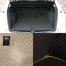 PU Leather Rear Trunk Cargo Liner Protector Mat Seat Back Cover For Audi Q5