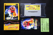 BACK TO THE FUTURE II (2) Nintendo Super Famicom JAPAN Very.Good.Condition