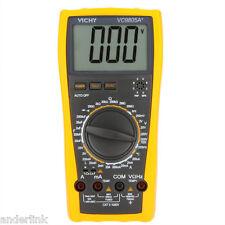 VC9805A+ LCD Digital Multimeter DMM Temp Inductance Cap Freq LCR Meter TQ3P