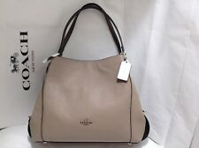 NWT. COACH COLORBLOCK  MIXED LEATHER EDIE 31 SHOULDER BAG HANDBAG 57670