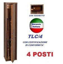 ARMADIO BOX PORTAFUCILI FUCILIERA 4 POSTI FUCILI EFFETTO LEGNO TECHNOMAX TCL/4