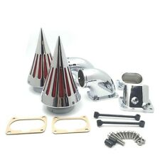 Cone Spike Air Cleaner Kit Intake Filter For Suzuki Boulevard M109 (All Year)Chr