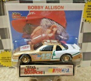 1991 Racing Champions 1:64 NASCAR Bobby Allison Motorsports Team Buick Regal #12