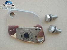 VOLVO AMAZON 121 122 PV 544 P1800 FUEL PUMP COVER PLATE STAINLESS MIRROR FINISH!