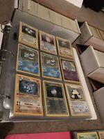 100 Lot PLAYED Original Vintage Rare Pokemon Cards Holo 1st Edition Shadowless