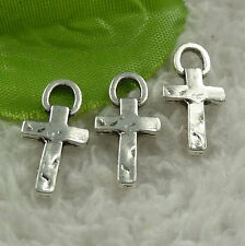 Free Ship 388 pieces tibet silver cross charms 20x10mm #4536