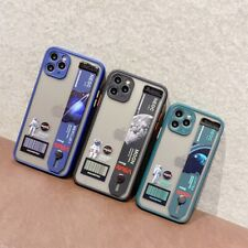Cool NASA Astronaut Wrist Strap Phone Cover Case For iPhone 7 8 11 Pro XS Max XR