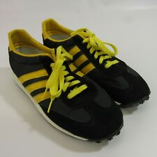 Vintage Skips Tennis Shoes Men's Size 7 Athletic Sneakers 7M Black & Yellow Rare