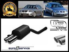 SILENCIEUX BMW 5 E60 E61 520d 525d 530d 2003 2004 2005 2006 2007-2010 Ø2x70