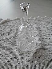 Tischglocke Glasglocke Glocke Bleikristall