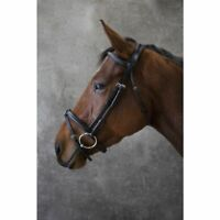 EcoRider Classic Comfort Bridle.Traditional style snaffle, finest EcoLux leather