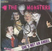 The Monsters - She's Not An Angel / The Boss (Vinyl-Single 1981) !!!