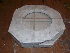 Vintage Ceramic Slip Mold / #1315 Wicker Base Plate