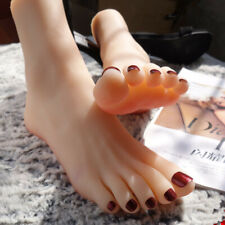 Soft Silicone Lifesize Girls Feet Ballerina Dancer Mannequin Display Model 1pc