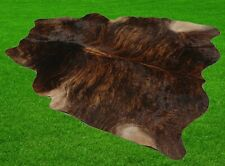 """New Cowhide Rugs Area Cow Skin Leather 19.51 sq.feet (53""""x53"""") Cow hide A-5945"""
