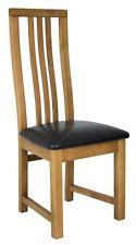 Oak Vermont Dining Chair - Dark Brown Seat
