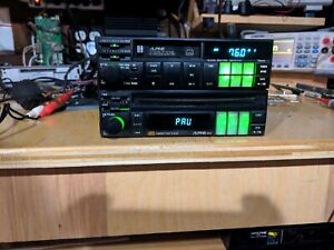 Alpine 5903/7284js Cassette Cd Vintage