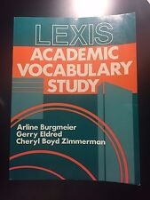 FREE SHIPPING Lexis Academic Vocabulary Study
