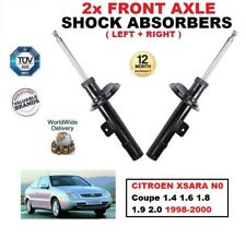 FRONT SHOCK ABSORBERS SET for CITROEN XSARA Coupe 1.4 1.6 1.8 1.9 2.0 1998-2000