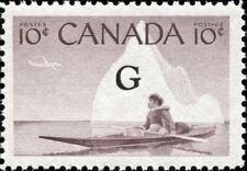 Canada Scott O39 Inuk and Kayak, Eskimo Hunter  VF MNH OG (20727)